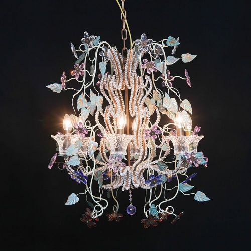 Multicoloured Large Chandelier